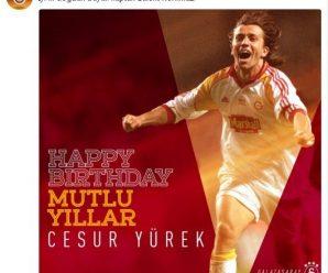 Galatasaray Feliciteert Bülent Korkmaz met zijn verjaardag