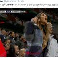 """Vrouw van Maicon, Ursula maakt """"kop-araf""""-beweging"""