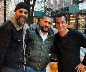 Umit Karan in NewYork gespot met Acun