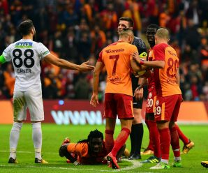 Spectaculaire wedstrijd voor Galatasaray
