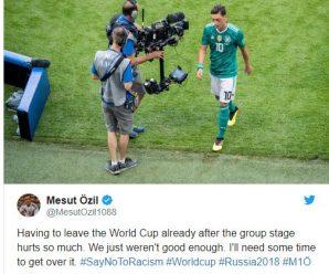 Mesut Özil reageert op WK 2018 kritiek